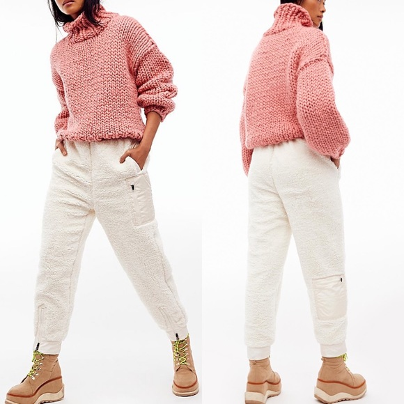 Free People Pants - Free People Movement BFF Solid Fleece Pant size M